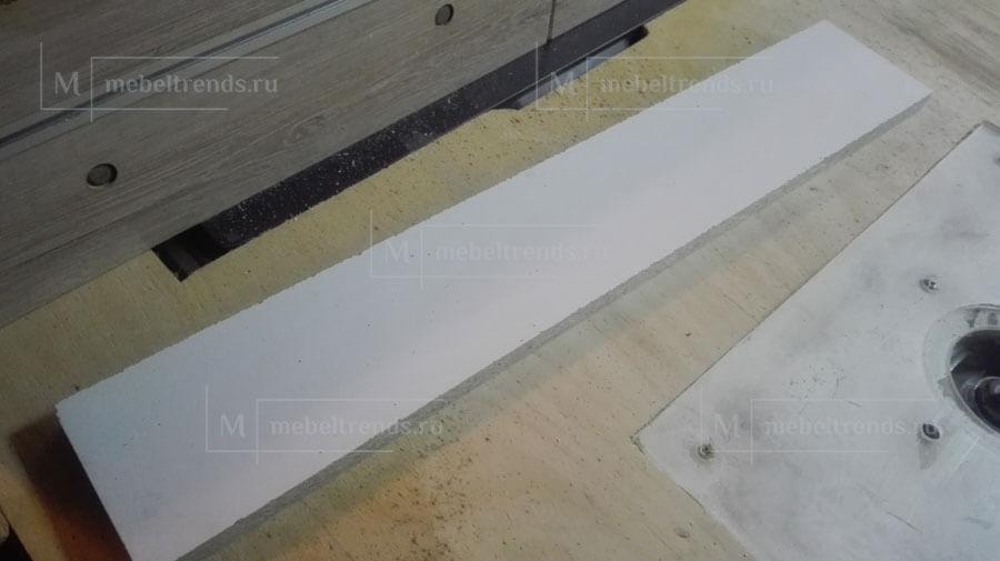 сколы на фрезерном столе