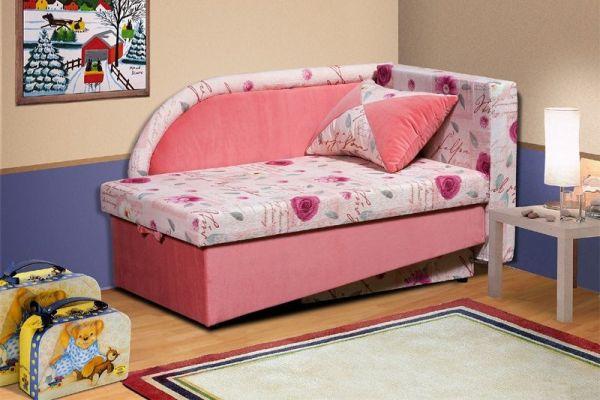 диван-кровать с бортиками