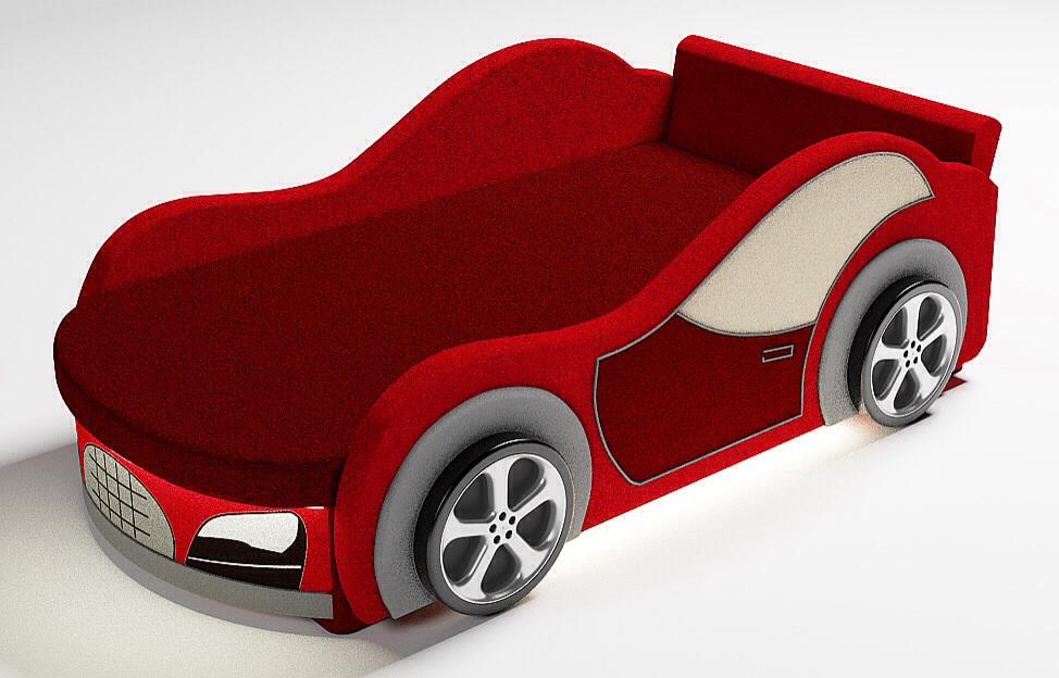 кровать в виде авто