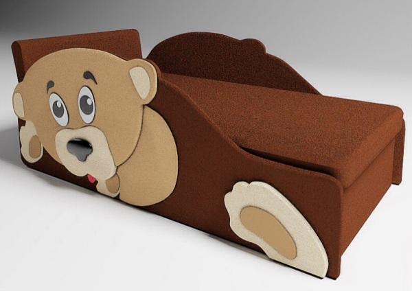 кровать в виде животного